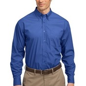 Long Sleeve Easy Care, Soil Resistant Shirt