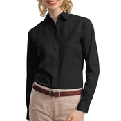 Ladies Long Sleeve Value Poplin Shirt