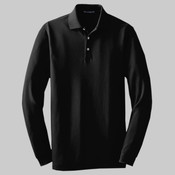 Tall Long Sleeve EZCotton™ Pique Polo