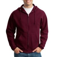 NuBlend ® Full Zip Hooded Sweatshirt Thumbnail