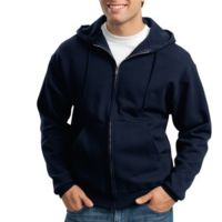 Super Sweats ® NuBlend ® Full Zip Hooded Sweatshirt Thumbnail