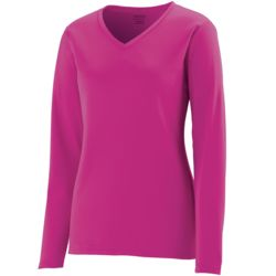 Ladies Long Sleeve Wicking T-shirt Thumbnail
