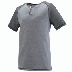 Linear Fusion Short Sleeve Henley Thumbnail